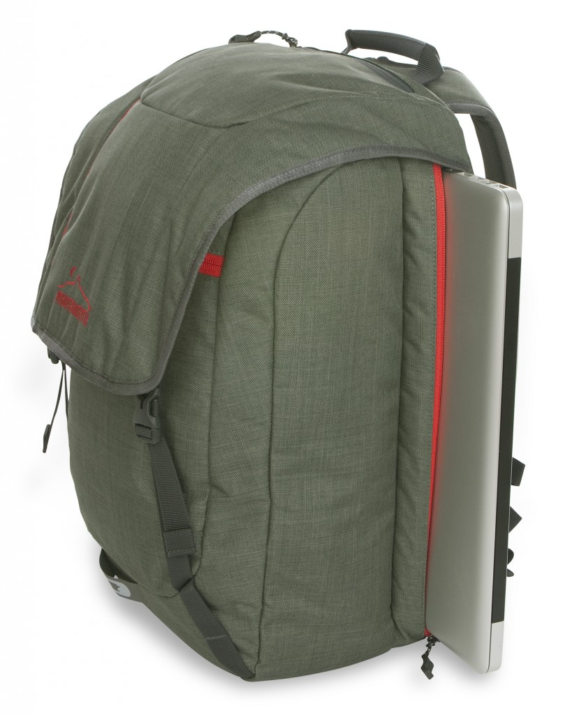 The Mountainsmith Cavern backpack in camp green from the Front Range Series