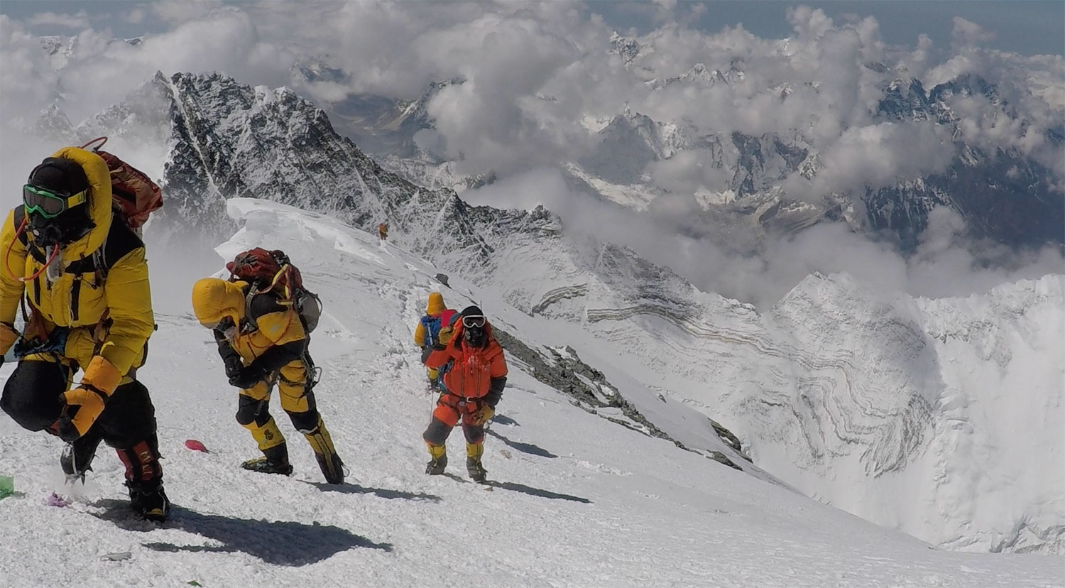 CHris Bombardier climbs Mt. Everest as the first hemophiliac to summit