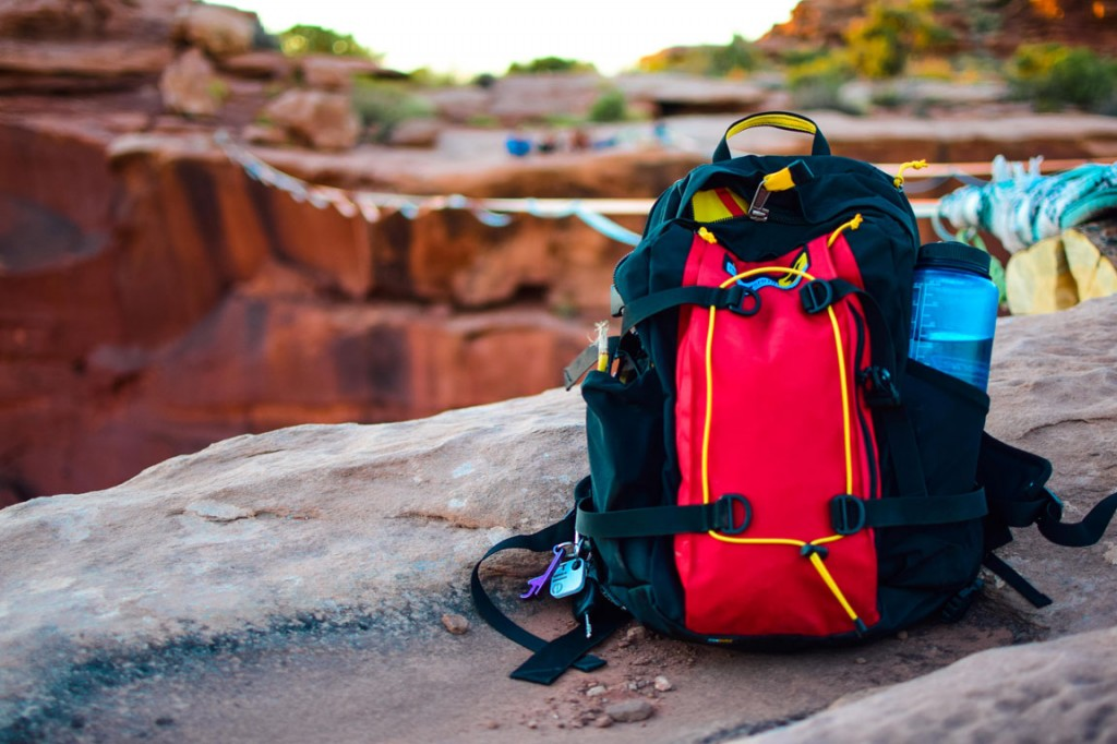 the grand tour pack by mountainsmith in moab utah
