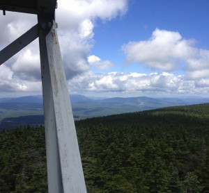 Fire tower view from Stratton Mountain, Vermont