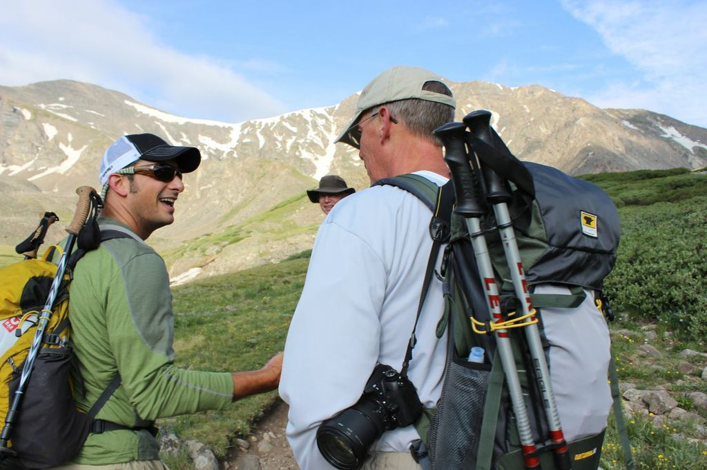 A Mountainsmith fan has a chance encounter with President of Mountainsmith, Jay Getzel