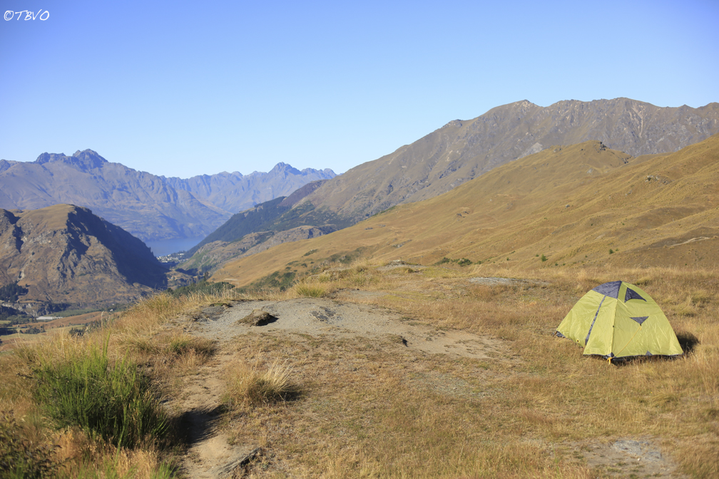 Morrison 2 person tent 3 season backpacking shelter in new zealand with Ted TBVO Van Orman