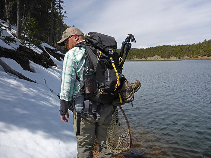 jonathan hill Hiking the shore with the Mountainsmith Mayhem 35