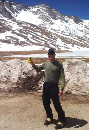 Nothing like a cold one after a great day in the mountains in a Mountainsmith I heart fanny packs coozie