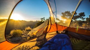 Waking up in my summer home at The San Rafael Swell in Utah