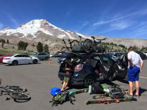 At last! The crew made it to Mt. Hood!