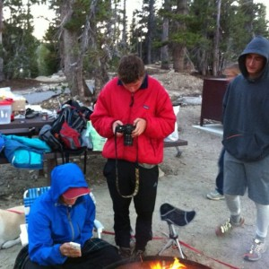 Hanging out at Mt. Rose Campground