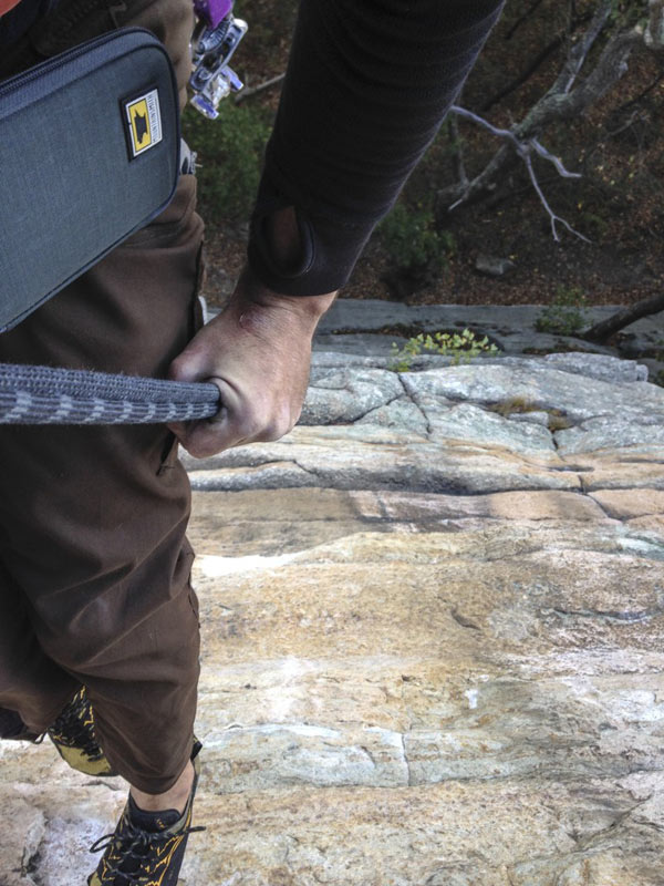 Mountainsmith Smartphone Case on Climbing Harness
