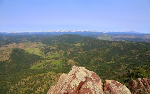 South Boulder Peak is just one of many incredible hikes in the outdoor mecca of Boulder. Bochen Chen